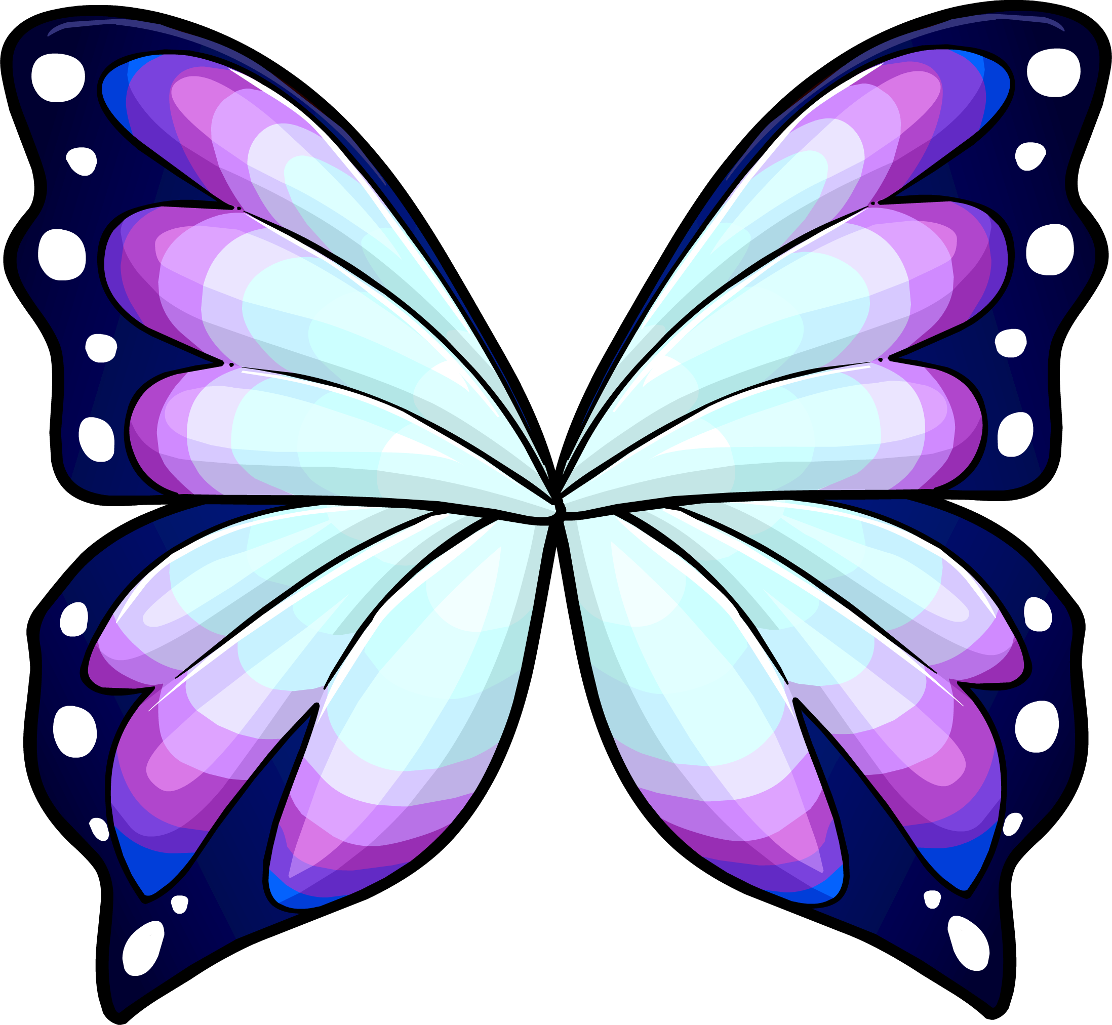 Butterfly wing png. Wings drawing at getdrawings