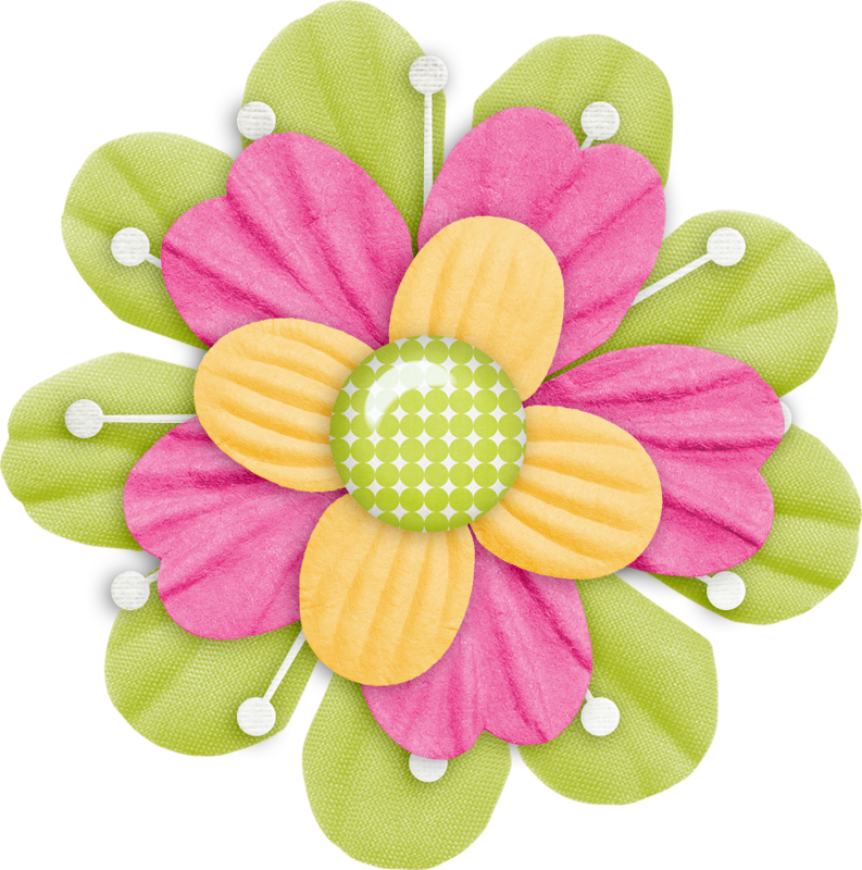 Button clipart craft. Layered flower png flowers