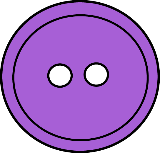 Button clipart craft. Purple who s got