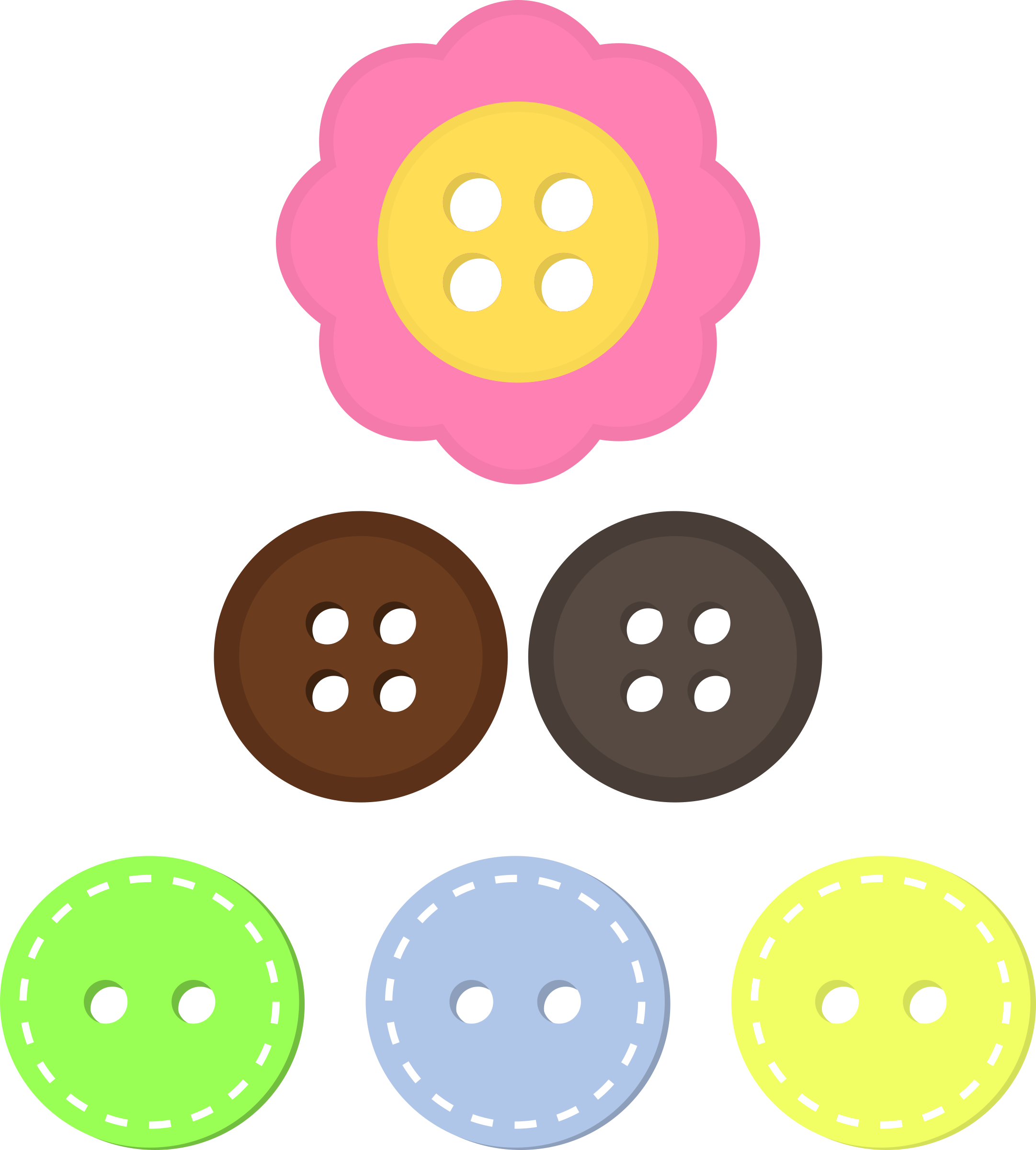 Button clipart craft. Clothes pencil and in