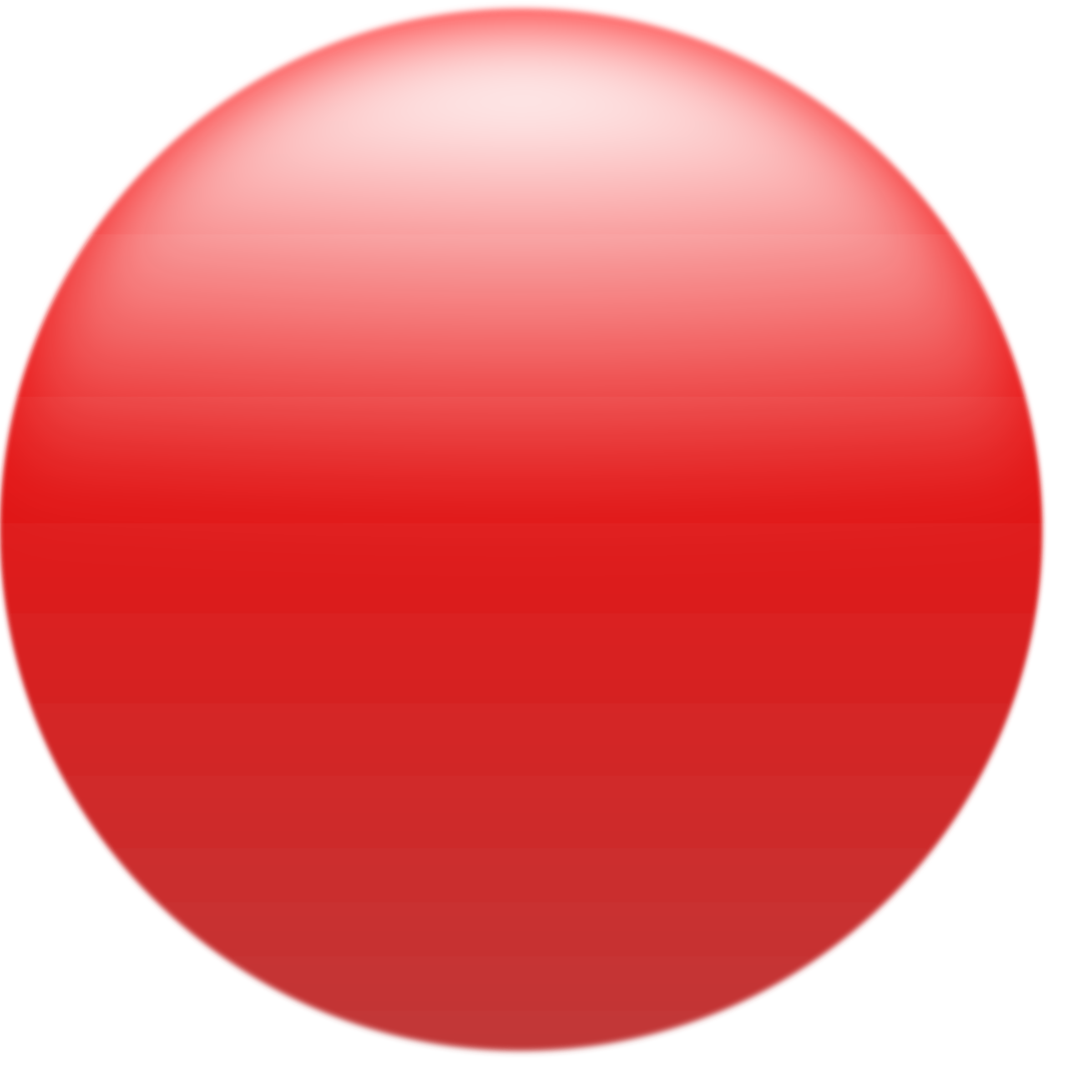 Button clipart img. Simple glossy circle red