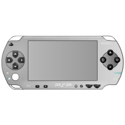 Button clipart psp. Sony silver icon png