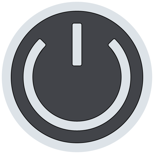 Button clipart standby. C icons free
