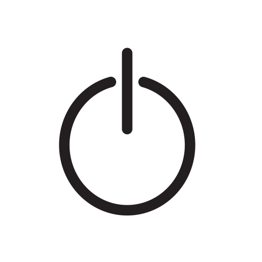 Button clipart standby. Power icon with png