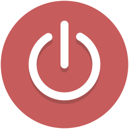 Button clipart standby. Free off icon download