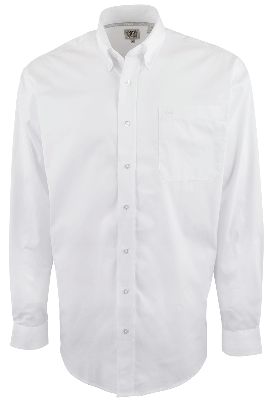 Preserver clipart button up shirt. Cinch white solid down