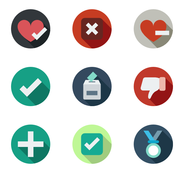 Circle icon png. Button icons free vector