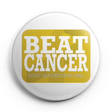 Button pin png. Beat cancer beatcancertoday org