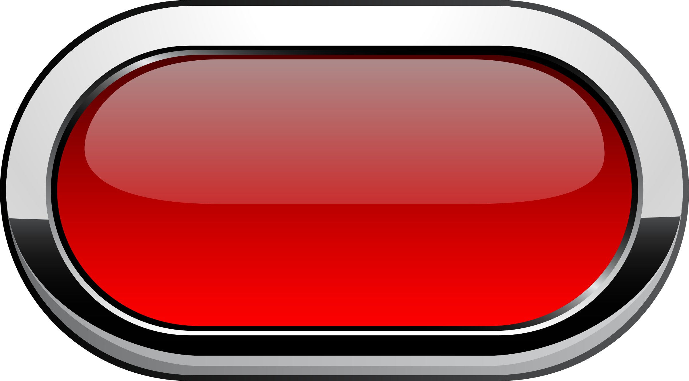 Buttons borders png. Red rounded button icons