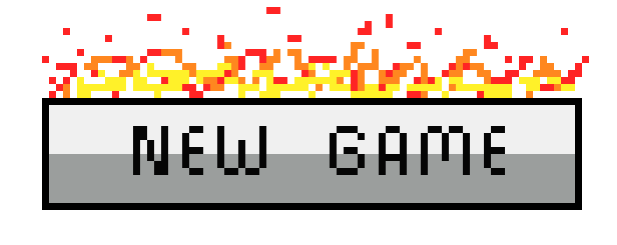 Buttons game png. New button concept pixel