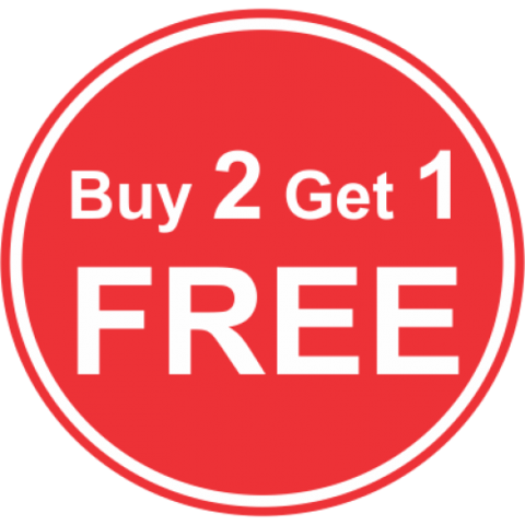 Buy 2 get 1 free png. January black gold filled
