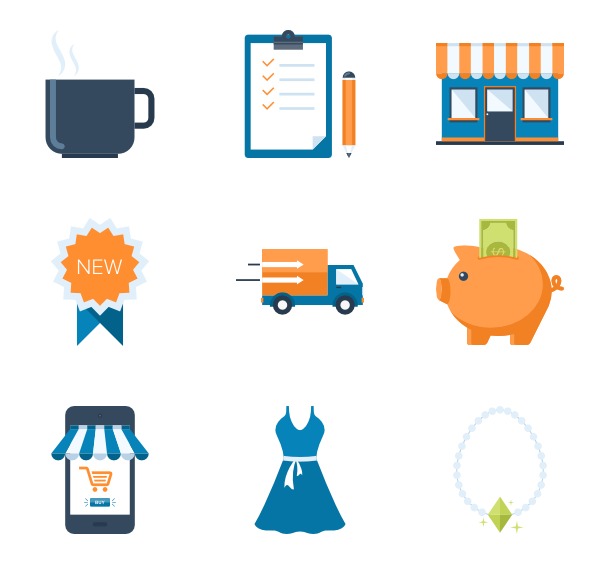 Buy vector family shopping. Icons free and commerce