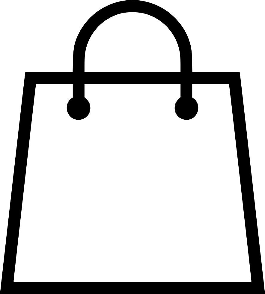 Buy vector shopping free. Bag svg png icon