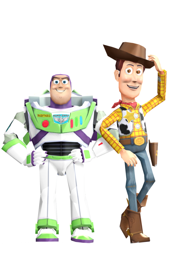 Buzz and woody png. Mmd by frede on