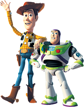 Buzz and woody png. Fathead junior wall decal