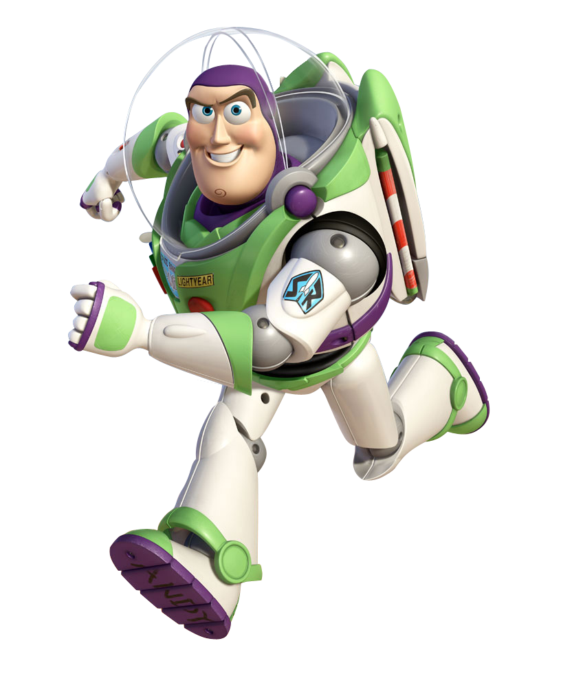 buzz transparent toy story