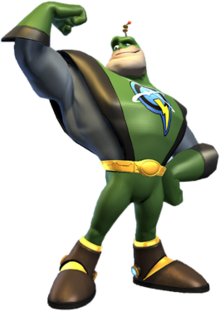 Buzz transparent captain. Qwark wikipedia