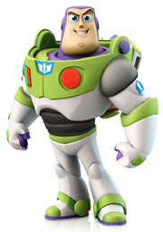 Buzz transparent glider pack. Image png disney infinity