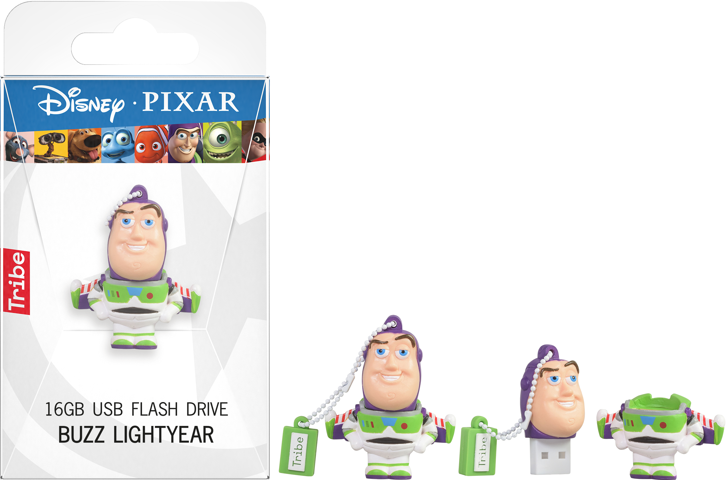 Buzz transparent glider pack. Gb lightyear usb
