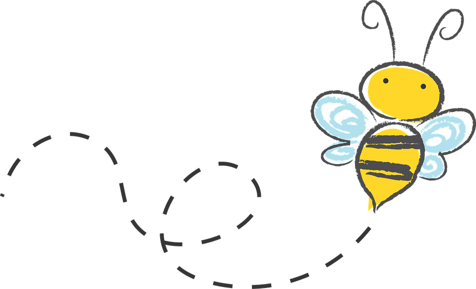 Buzzing bee png. Free image on pixabay