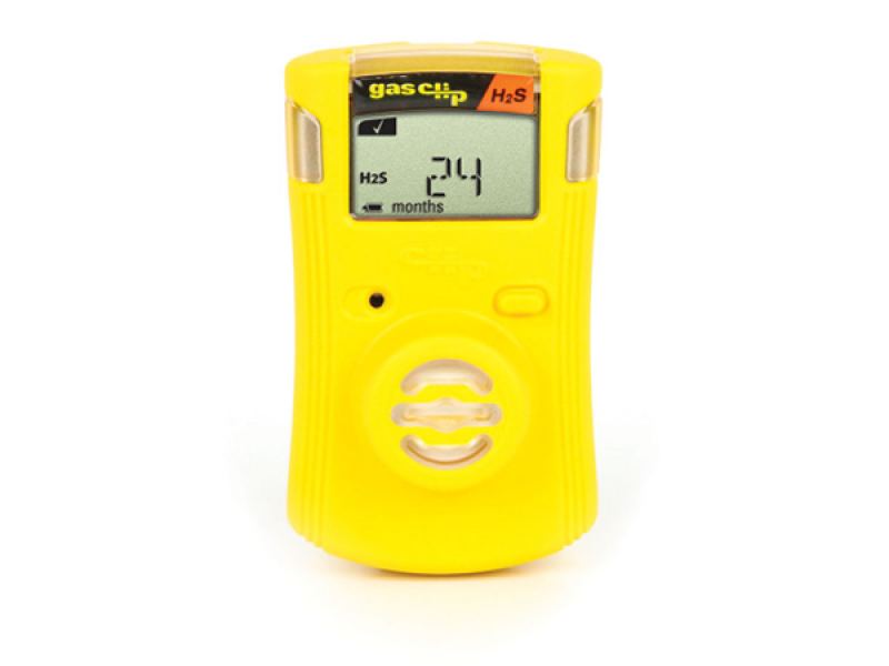 Bw clip gas detector. Portable h s meter