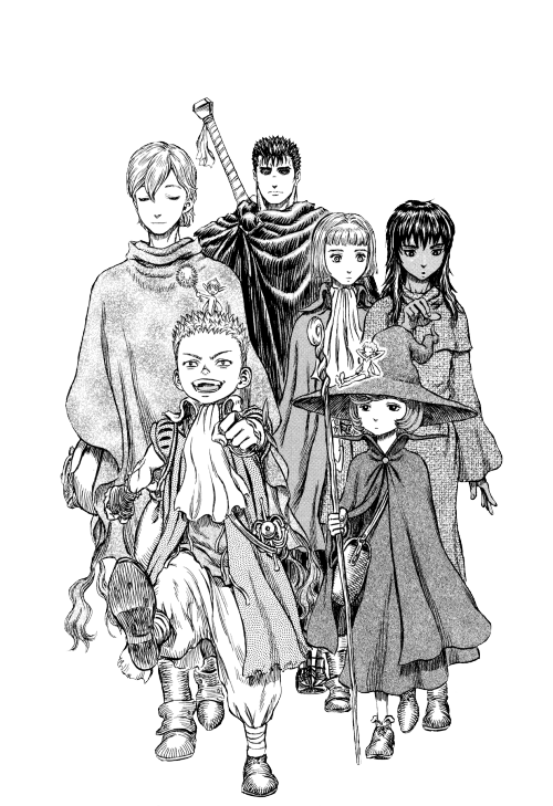 Berserk drawing gats