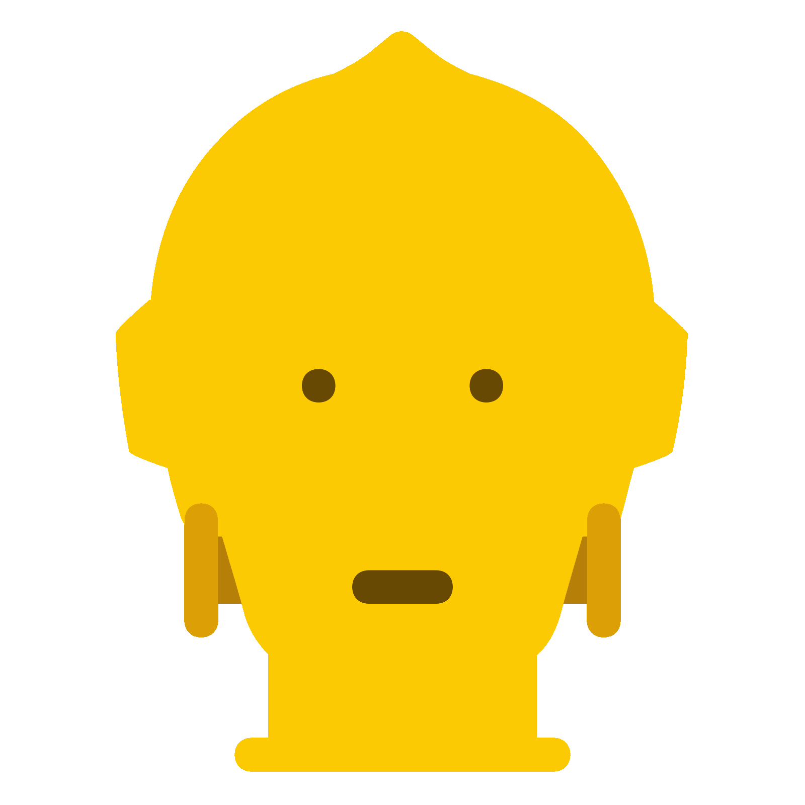 C3po vector 3cpo. C po icono descarga