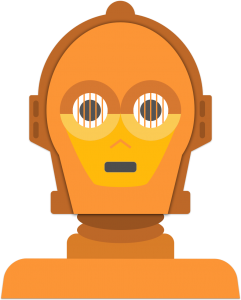 C3po vector cp30. Logos and images stephanie