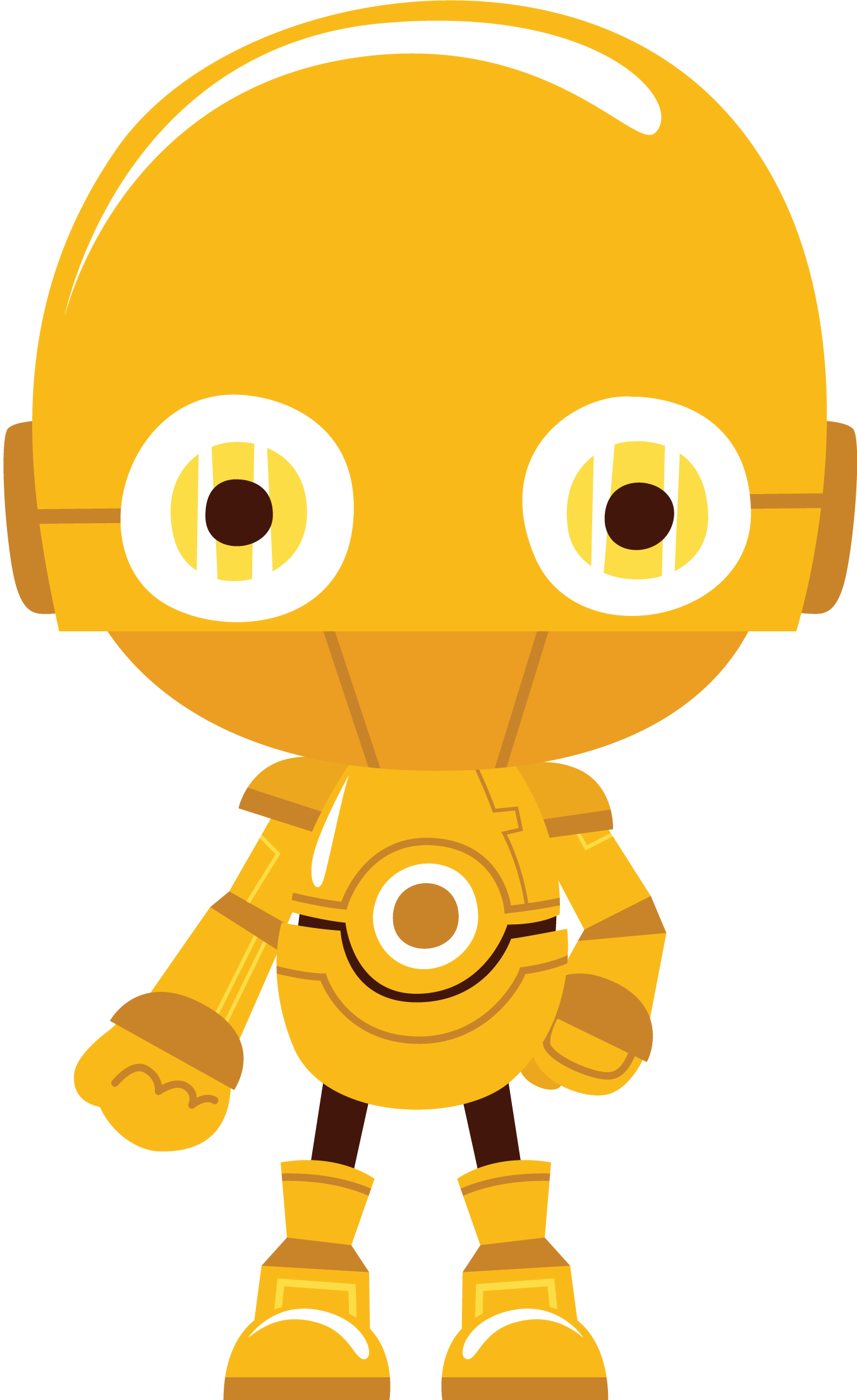 C3po vector transparent. Starwars clipart cp o