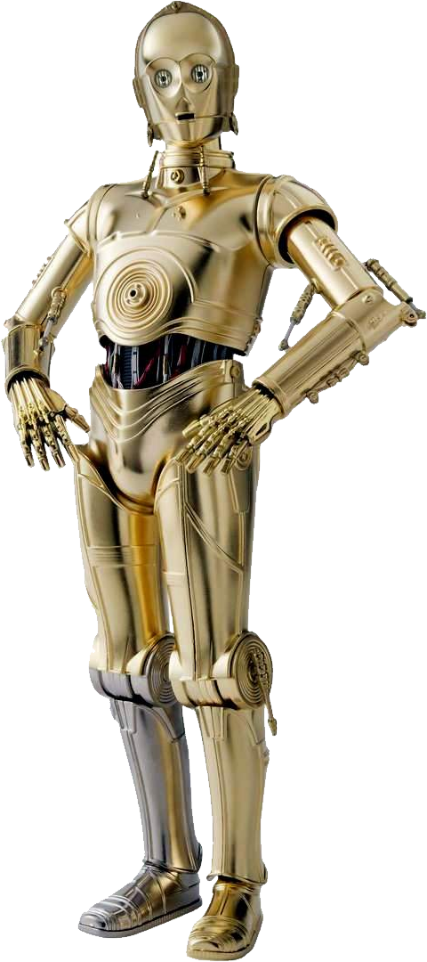 C3po vector transparent. Png star wars images