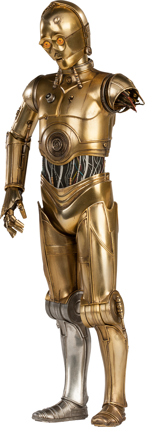 C3po vector transparent. Star wars png images