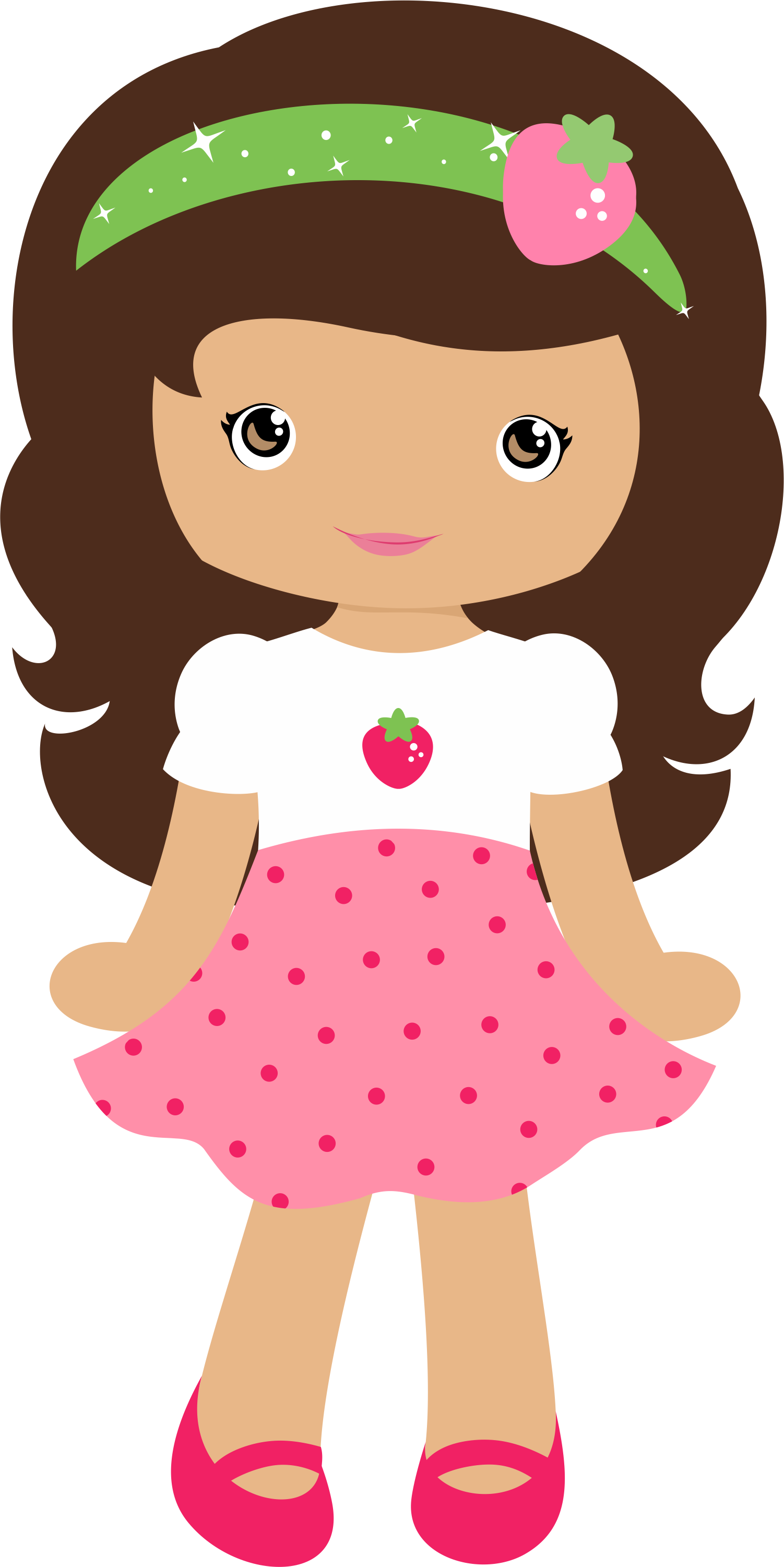 Moranguinho grafos strawberrygirl minus. Cabbage patch baby birthday clipart png free library