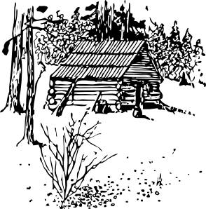cottage vector hut