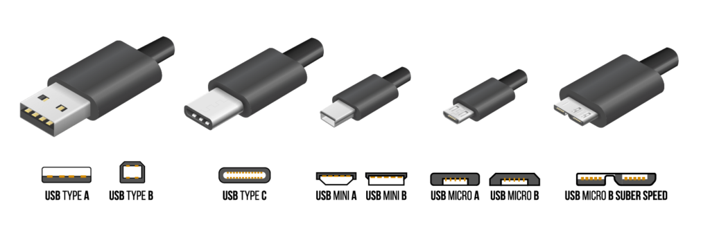 cable vector usb c