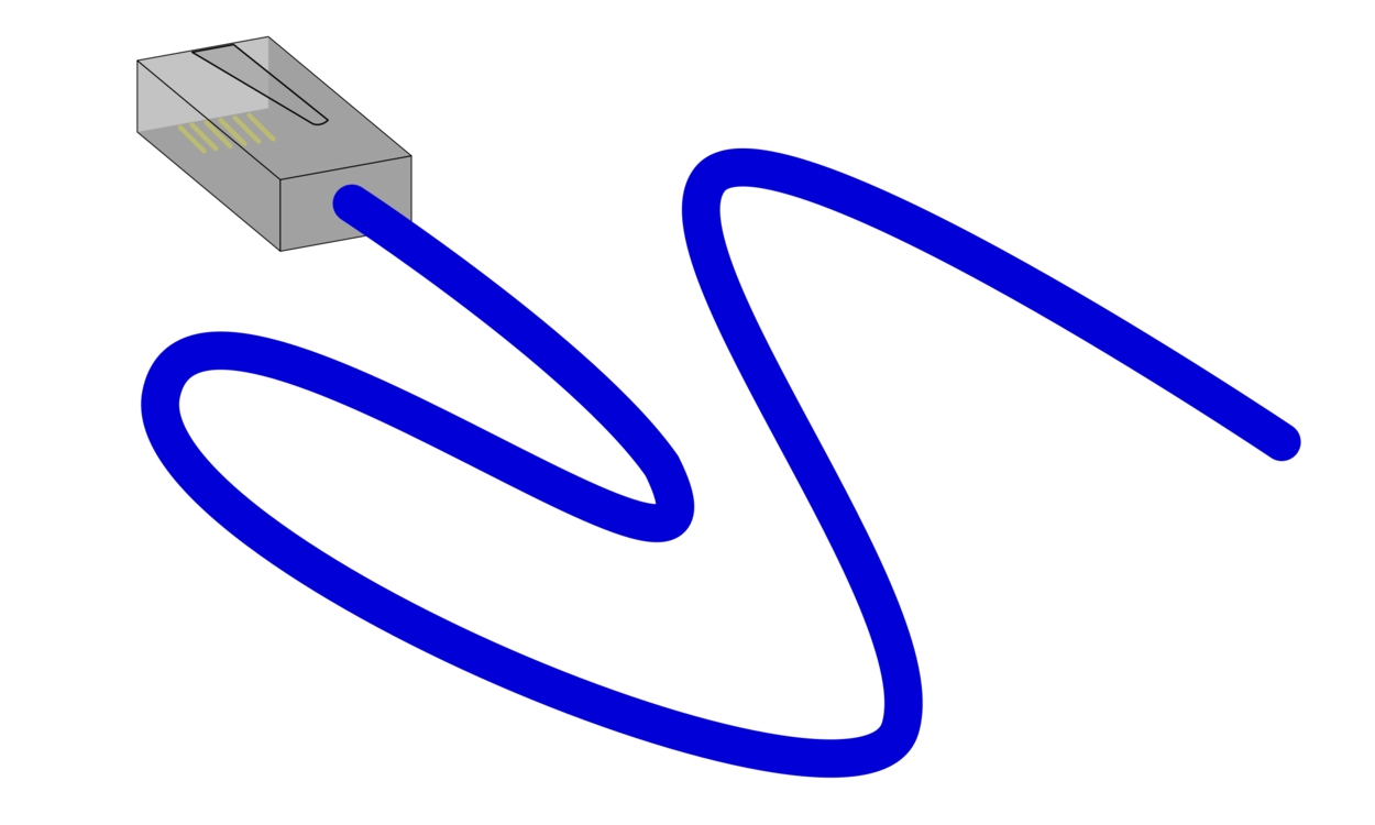 Cable vector tangled wire. Electrical ethernet network cables