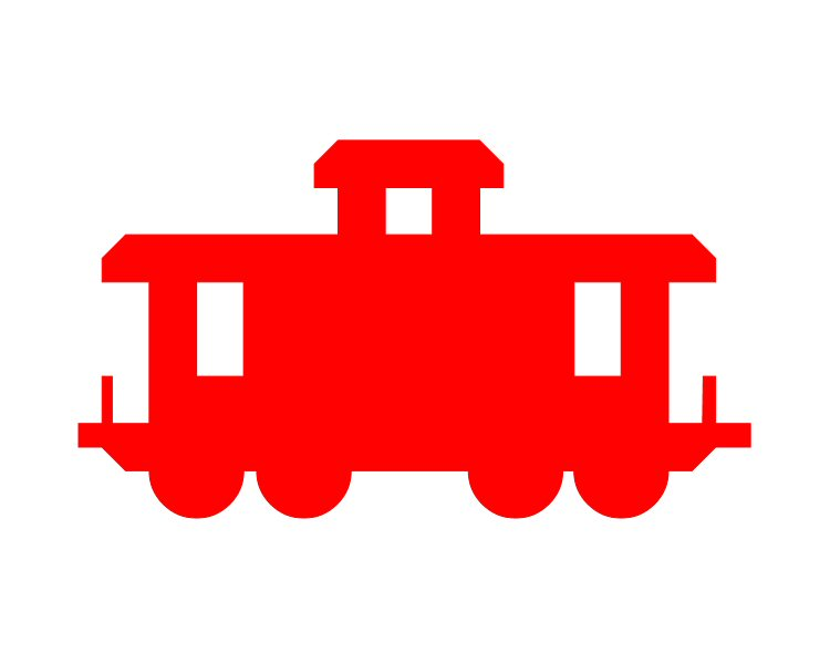 Caboose clipart clip art. Image of best clipartoons