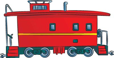 Caboose clipart clip art. Image of free images