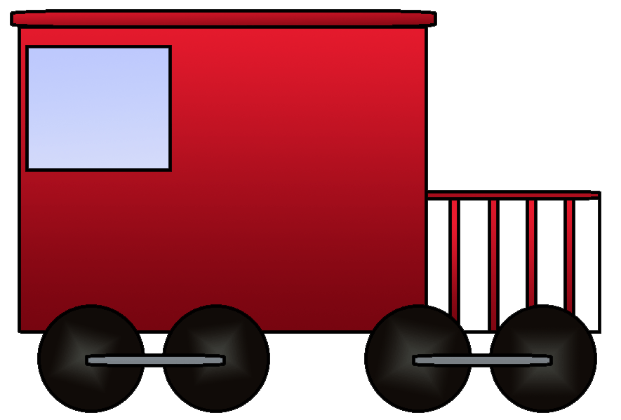 Caboose clipart clip art. Train for teachers