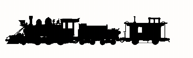 Caboose clipart old train. Silhouette clip art at