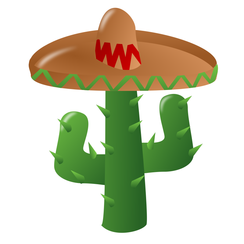 vector sombrero golf hat