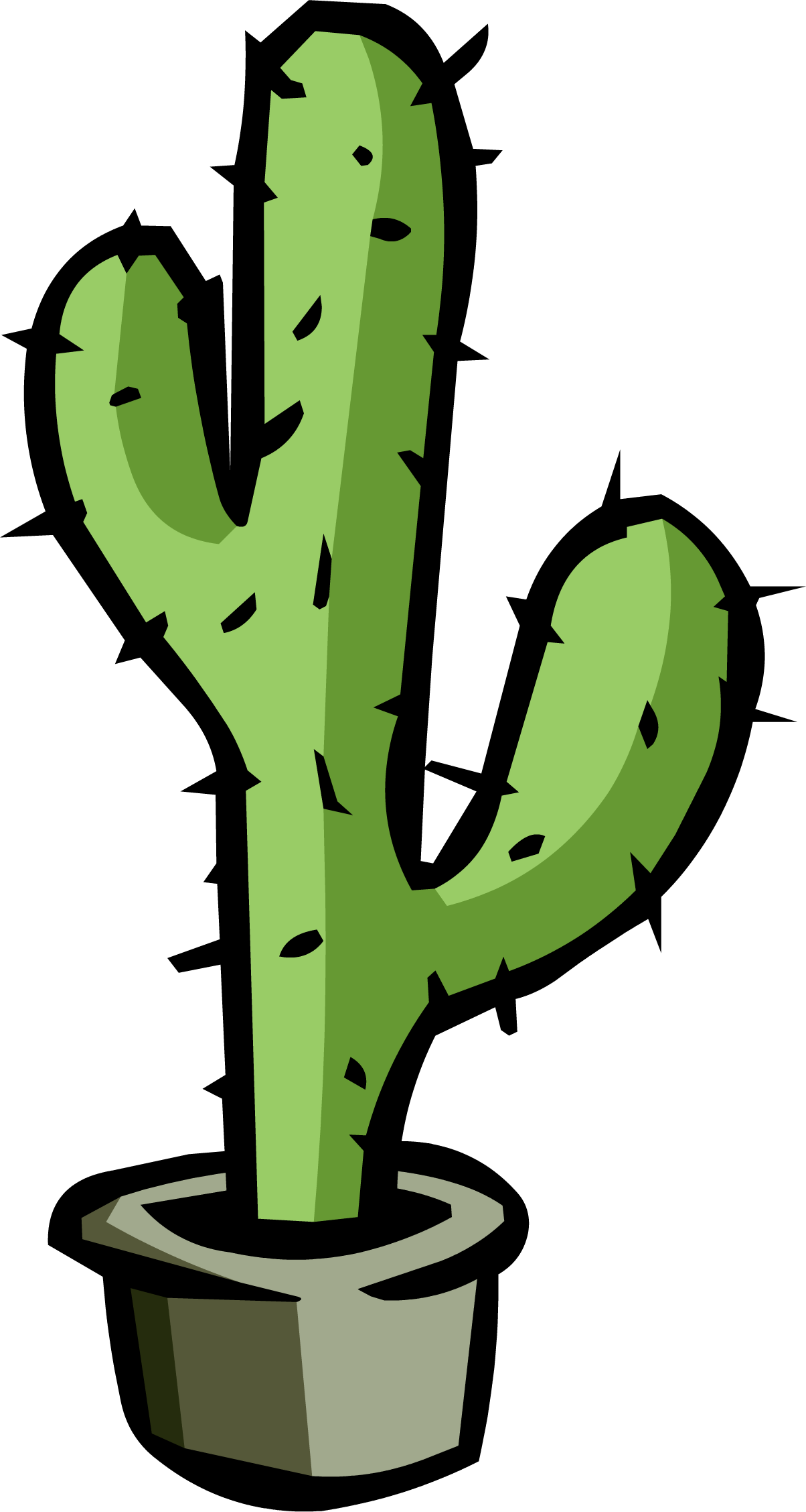 cartoon cactus png