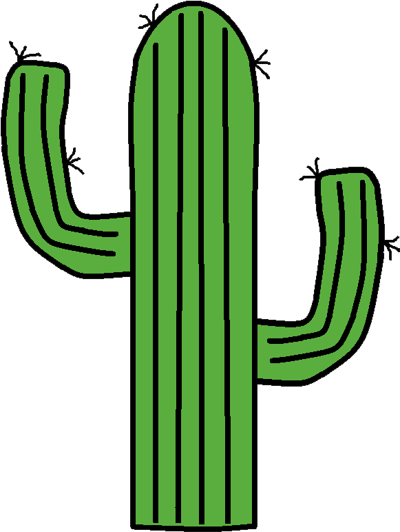 Cactus clipart western. Download hd transparent png