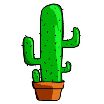 Cactus mexicano png. Flower vectors psd and