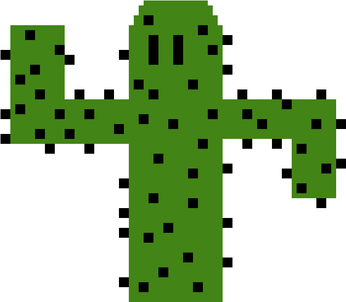 Cactus png pixel. Download cross image with