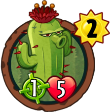 Cactus png plants vs zombies. Heroes wiki cactush
