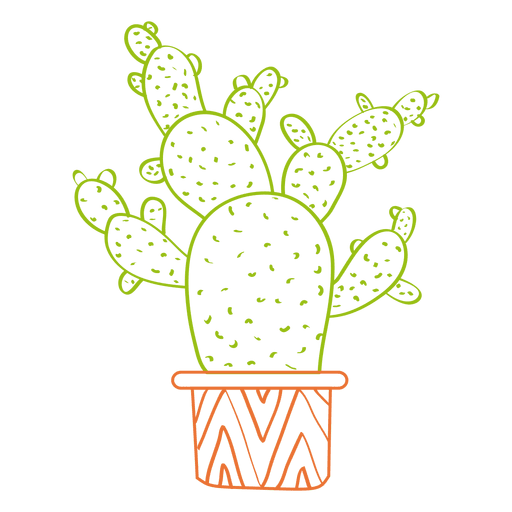Cactus water color png. Hand drawn watercolor silhouette