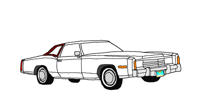 Cadillac drawing deville. In the s on