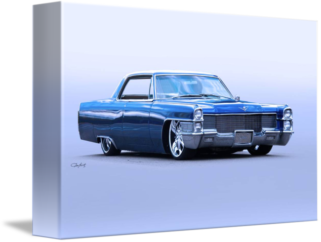 Cadillac drawing deville. Coupe custom by