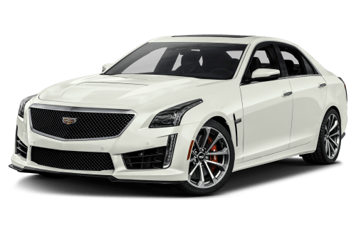 Cadillac drawing luxury car. Cts v expert