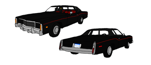 Cadillac drawing deville. Drawings on gm lovers